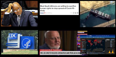 Opinionated News 29 March 2021 – More On The Plandemic, Zuma Runs His Mouth, And More! (Part 1 of 2)