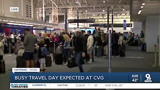 Monday expected to be busiest travel day of the year at CVG