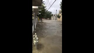 Hurricane Hanna causes devastating floods, captured on camera