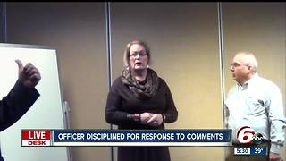 Plainfield officer disciplined after getting angry over white privilege comments during training - Video