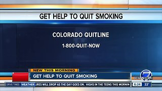 Get help to quit smoking