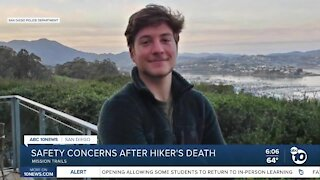 Safety concerns after hiker's death