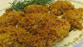Betty's crispy crust baked chicken breasts - Video