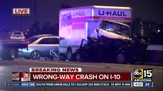 DPS: 7 hurt in wrong-way crash in Phoenix - Video