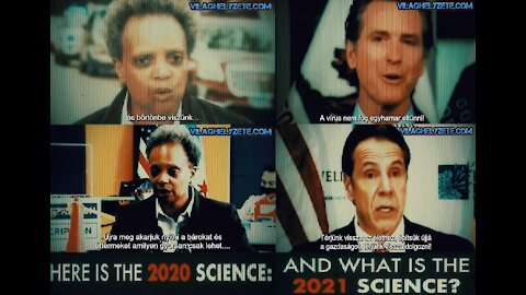 Believe in Science! Science in 2020 and in 2021