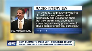 Cuomo set to meet with President Trump