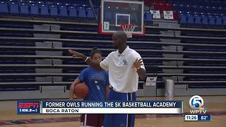 Former Owls Giving Back Through Camp - Video