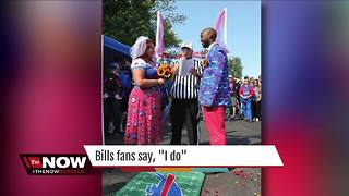 "Bills fans say, ""I do"""