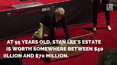 Stan Lee Victim of Elder Abuse After 3 Men W/ 'Bad Intentions' Worm Their Way into 95-Yr-Old's Life