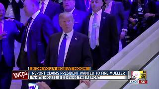Report claims president wanted to fire Mueller - Video