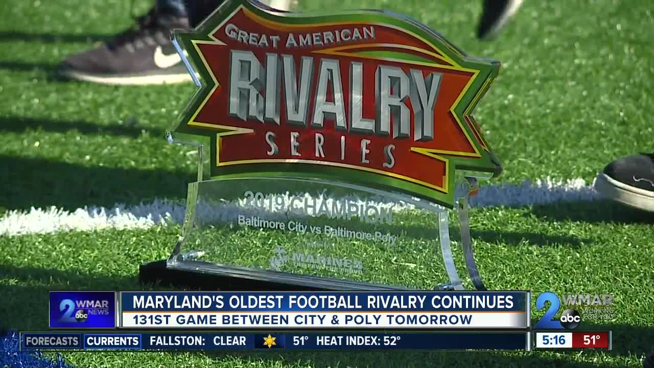 Maryland's oldest football rivalry continues