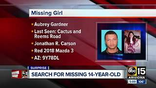 Amber Alert issued for missing teen from Surprise