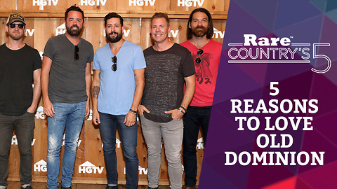 Five Reasons to Love Old Dominion | Rare Country's 5