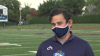 Interview with Cascia Hall Head Football Coach Joe Medina