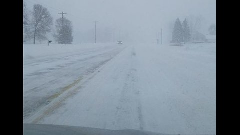 Wisconsin Librarian Salutes 'Amazing' Plow Drivers After Snowy Commute