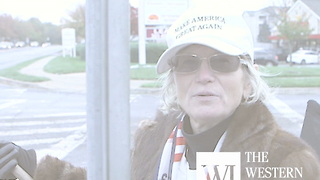 Maryland woman waves US flag almost every weekday morning - Video