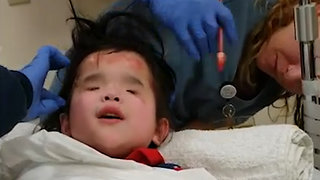 8-Year-Old Born Without Eyes Uses Music to Face Fears