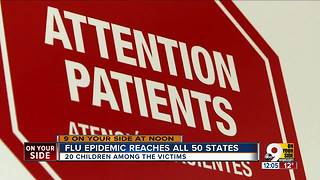Flu epidemic reaches all 50 states - Video