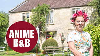 Owner of tiny countryside B&B is a celebrity after anime comics and series based on her hotel