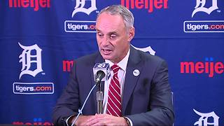 MLB Commissioner Rob Manfred expects Chris Ilitch to own Tigers 'for a long time