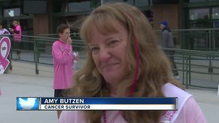 Making Strides puts boots to the pavement to fight breast cancer - Video