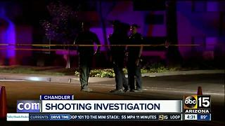 Police investigating overnight shooting in Chandler - Video