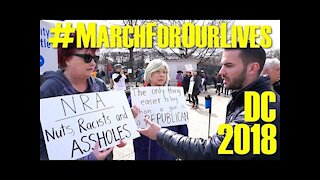 March For Our Lives D.C. 2018 | Conservative Interviews Anti-Gunners
