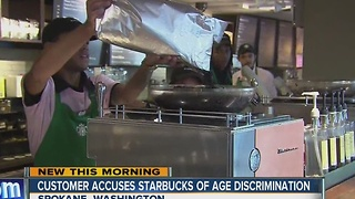Customer accuses Starbucks of age discrimination - Video
