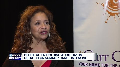 Debbie Allen to join Carr Center Summer Dance Intensive