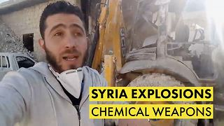 Death toll rises after chemical attack in Syria - Video