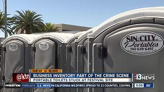 Las Vegas business, whose truck was used to help save victims, fears shutting down after shooting - Video