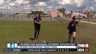 Honoring local students on National Student Athlete Day - 7am live report