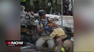 USF student's dad helping victims in Mexico - Video