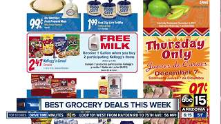 About to shop? Check out these grocery deals! - Video