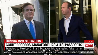 Paul Manafort Has Three US Passports and Is Considered a Flight Risk, Per Mueller - Video