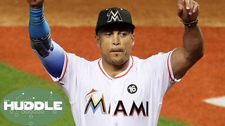 Giancarlo Stanton Heading to the GIANTS!? - The Huddle - Video