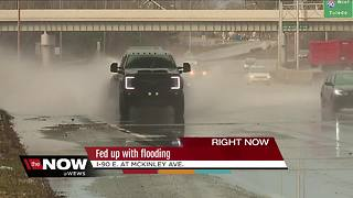 Continued, dangerous flooding on I-90 causes concerns - Video