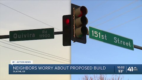Olathe residents oppose proposed medical-office building