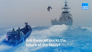 Are these jet packs the future of the Navy?