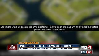 City of Cape Coral makes national headlines - Video