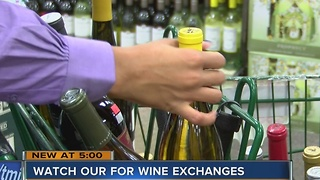 WARNING: Watch out for wine exchanges - Video