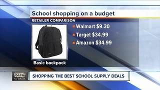 Bargain hunting school supplies for 2017! - Video