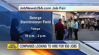 Hundreds of jobs available at JobNewsUSA.com's Tampa Job Fair on Wednesday