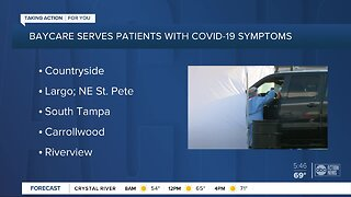 BayCare designating 6 urgent care clinics for people with COVID-19 symptoms