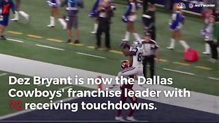 Dez Bryant Breaks A Record With Incredible Touchdown Catch - Video