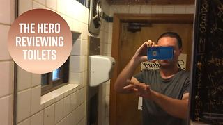 Heroes among us: The anonymous restroom reviewer - Video