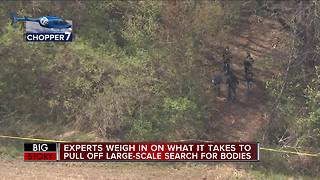 Experts detail what's next if remains are found during Macomb County search - Video