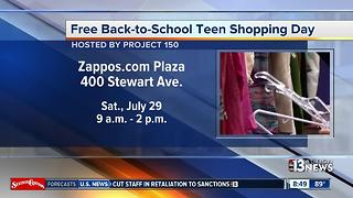 Project 150 hosts free back-to-school shopping day for teens - Video