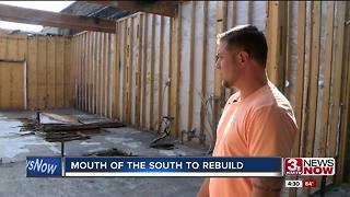 Mouth of the South to rebuild after fire - Video
