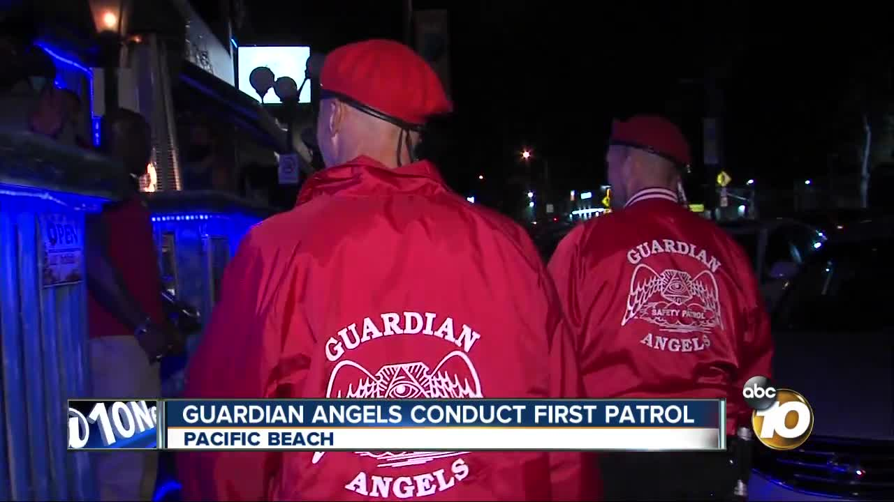 Guardian Angels conduct first patrol in PB